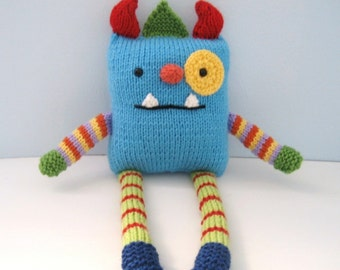 Amigurumi Knit Monster Pattern Digital Download