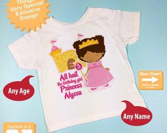 Birthday shirt african american prince birthday shirt third birthday shirt african american princess birthday shirt personalized princess 3rd birthday girl tshirt negle Choice Image