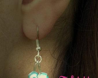 Free shipping cherry earrings pink earrings red earrings teal earrings cherry jewelry novelty earrings novelty earrings fruit jewelry fruits