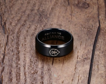 Warcraft ring Etsy