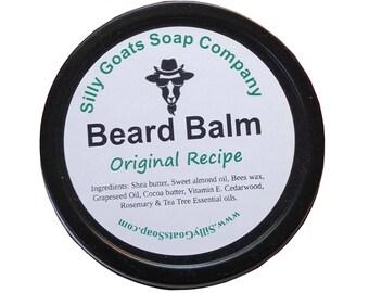 Beard Balm, Beard Pomade,  Utility Balm, Beard Conditioner