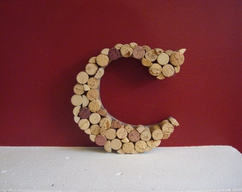 Wine Cork Wall Hanging