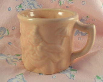Baby Drinking Cup Planter for Nursery Cup with Clowns Pink baby Mug
