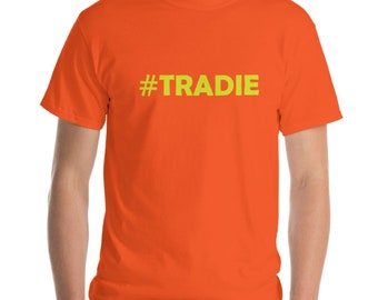 Tradie T shirt - 6 Colours with Fluro Print