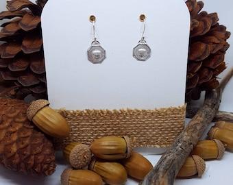 Acorn Sterling Silver Earrings