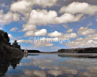 Beautiful View on the Water Digital Download. JPG File.