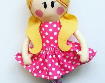 Doll Sewing Pattern ~ Doll Pattern ~ Rag Doll Pattern ~ PDF  Sewing Pattern ~ Baby Sewing Patterns ~ Sew A Doll ~ Cloth Doll ~ Easy Patterns