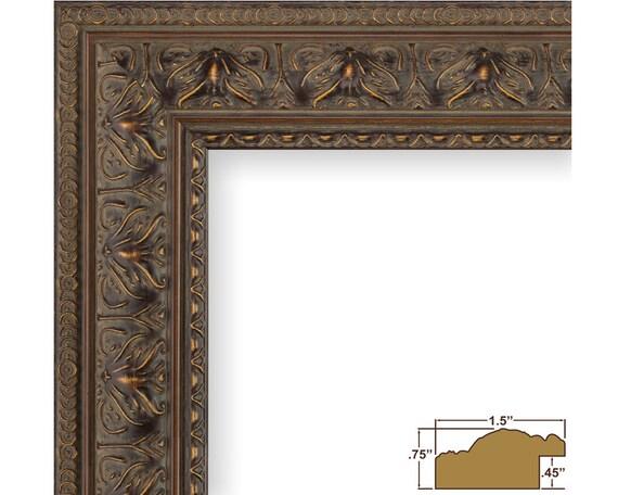 craig frames 12x12 inch antique mahogany picture frame. Black Bedroom Furniture Sets. Home Design Ideas