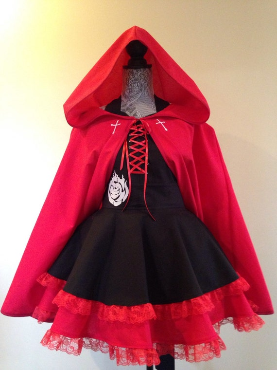 & Ruby Rose Apron CAPE SOLD SEPARATELY costume apron retro