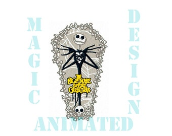 The Nightmare Before Christmas  Machine Embroidery Design in 3 sizes ---Instant download---