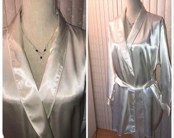 Fredericks Satin Robe, XL