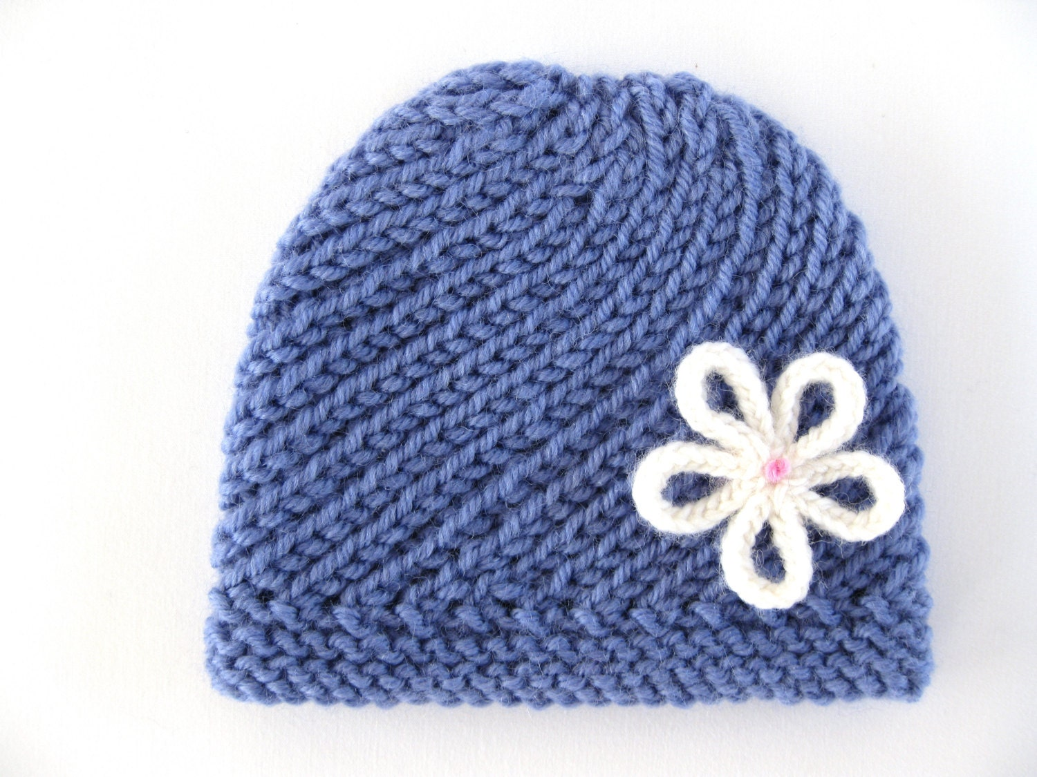 how to knit a preemie baby hat rack