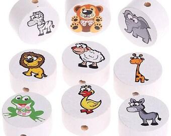 """Duck"" animal bead"