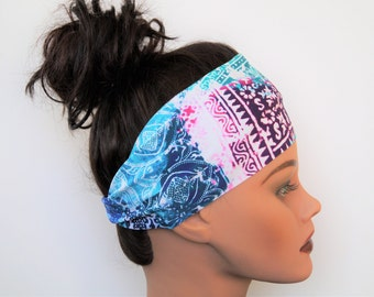Fitness Headband/ Hiking Headband/ Yoga Headband/ Running Headband/ Festival Headband/ Crossfit Headband/Workout Headband/Coachella Headband