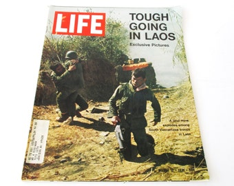 Life Magazine - Tough Going in Laos March 12, 1971