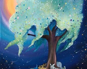 Print of Tree of Dreams