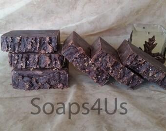 Vanilla & Greek Yogurt Hot Process Soap, Warm Vanilla Soap, Vanilla Handmade Soap, Greek Yogurt.