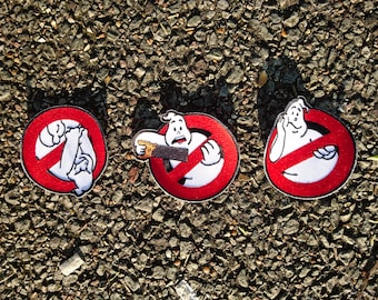 Real Ghostbusters Logo Embroidered Patch 3-Pack