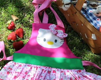 Hello Kitty Girls Apron