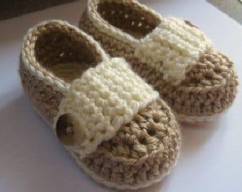 Chaussons bébé, chaussons bébé, lit bébé Chaussures / / beaucoup de couleurs et de tailles au choix / / cadeau de shower de bébé