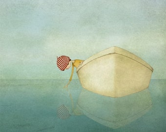 On the sea - Art print (3 different sizes)