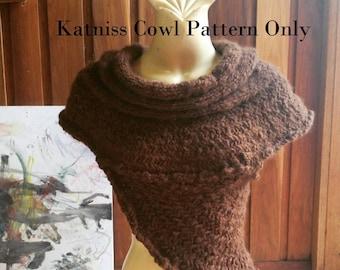 Katniss Cowl Knitting Pattern