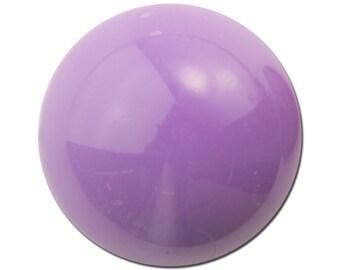 Vintage Soft Grape Purple Acrylic Cabochons 24mm (4) cab835A