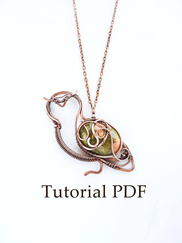 Tutorial jewelry DIY project - Owl pendant - Copper soldering - Wire ...