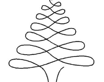 "Christmas Tree 4"" - 0895"