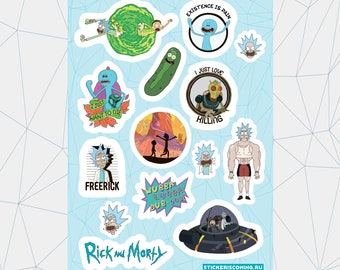 """Sticker pack """"Rick and Morty #2"""""""