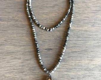 Black Jasper Boho Necklace