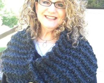 "Outlander inspired, ""Claire's Cowl"", Neckwear, Knitted"