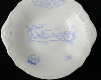 Royal Grafton Fine Bone China Bermuda Pattern Rare Small Plate