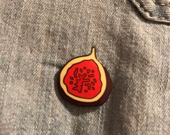 Fig Lapel Pin