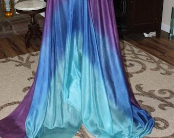 Mipha's Grace  Silk Bellydance Veil, Bellydance Costume Veil
