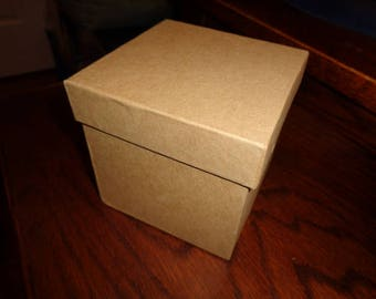Small Square Kraft box by Celebrate It