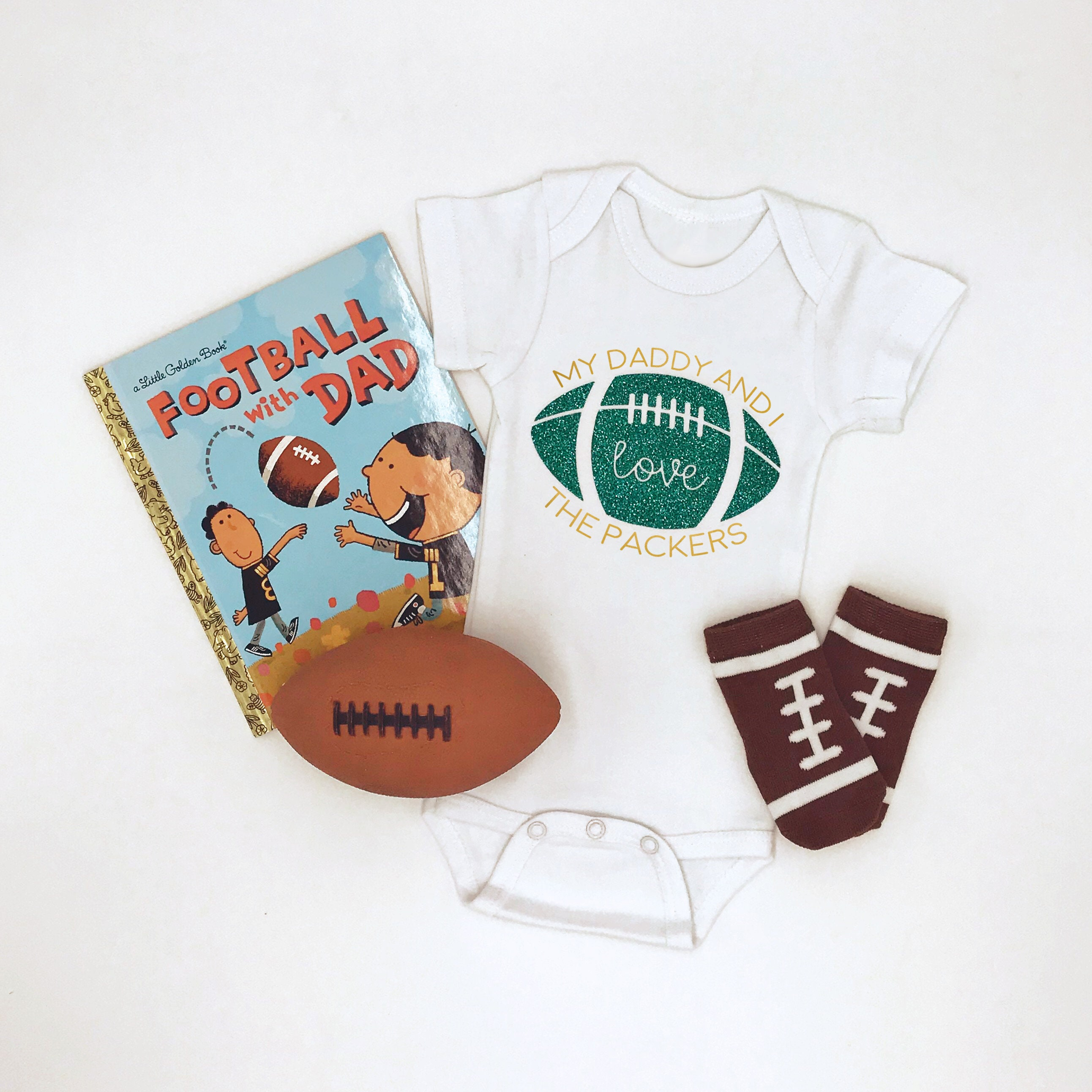 ace30a93e Green Bay Packers Football Baby Bodysuit Sports Team