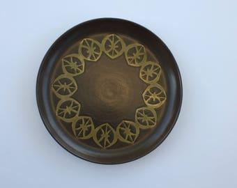 Authentic Berkeley House Stoneware Olive Serving Platter