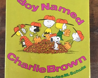 A Boy Named Charlie Brown, Holt, Rinehart, Winston 1st Ed. 1969 (Hardcover)