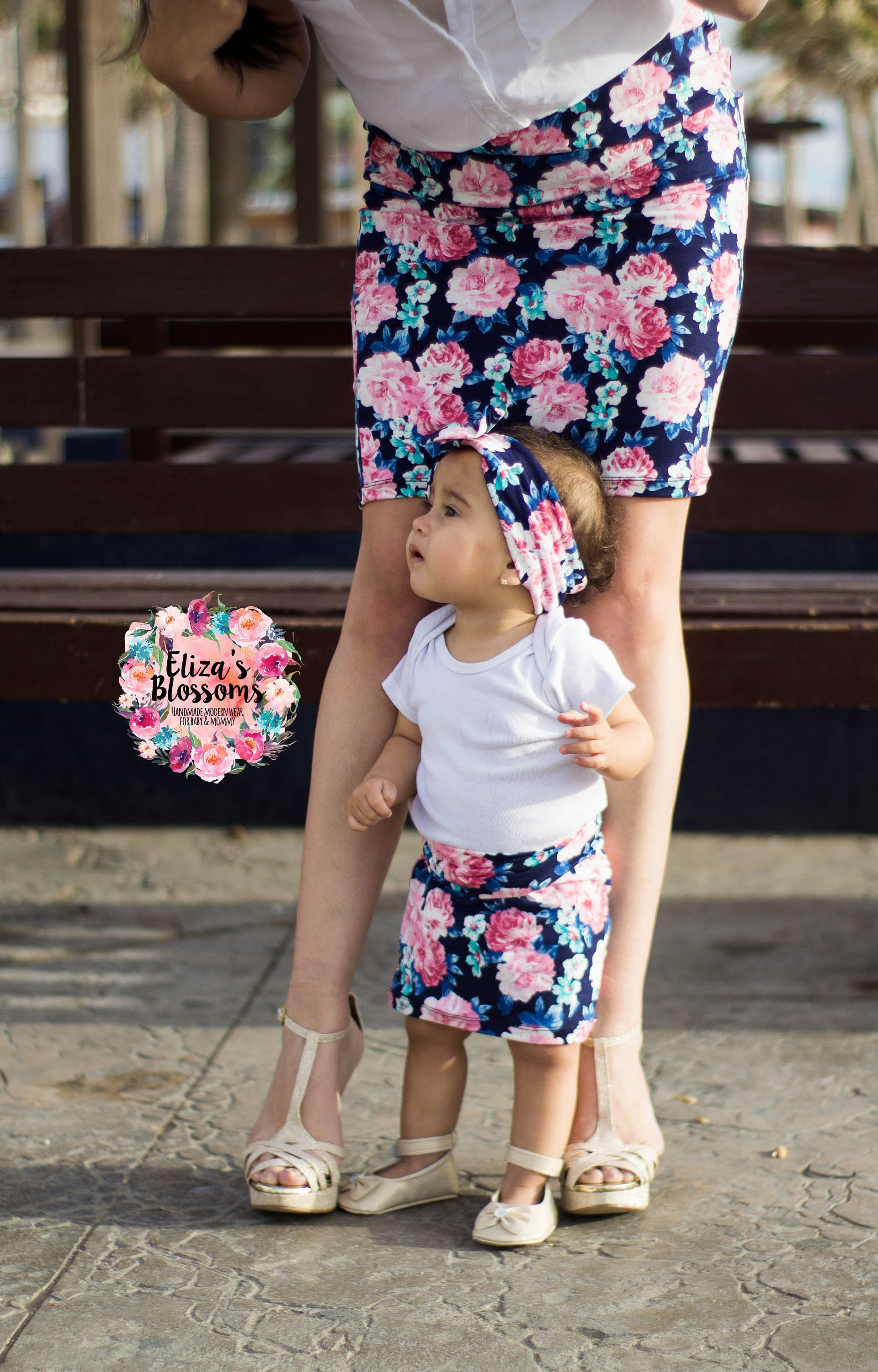 mommy and me pencil skirts mother and daughter matching
