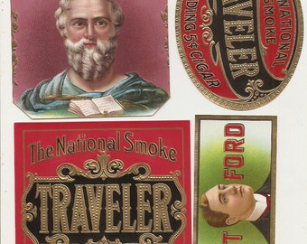25 different 1930s plus TOBACCO and CIGAR LABELS  Due to the continuing Ofac sanctions against Cuba origin of labels from u.s.