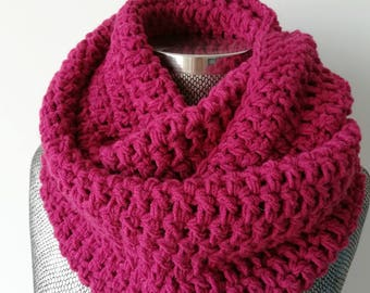 Knit Scarf, Women Scarf, Pink Scarf, Knit Scarf, Clothing Gift, Scarf