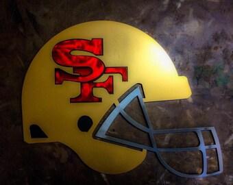 "18"" San Francisco 49er Helmet"