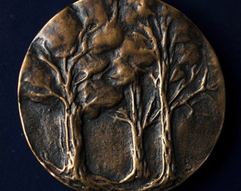3 trees  bronze medal