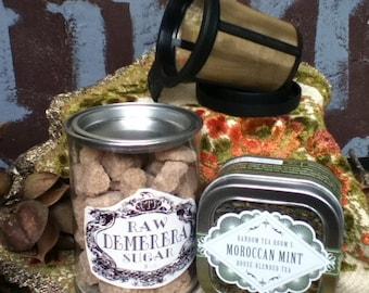 Moroccan Mint Loose Leaf Tea Kit (Organic)