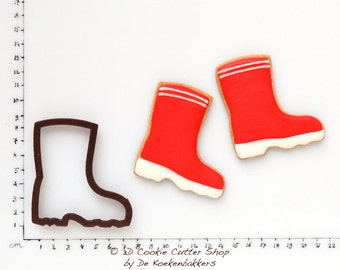 Rain Boot Cookie Cutter (budget cutter)