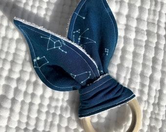 Constellation  bunny ear teether