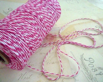 Bakers Twine - Bright Pink - 10m