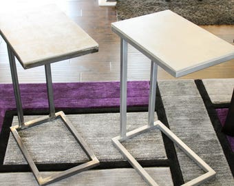 Modern End table/ C-table
