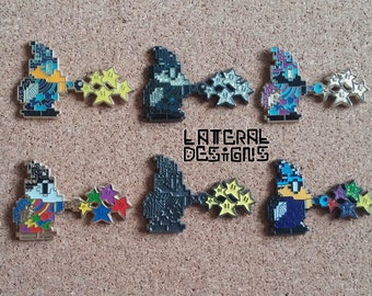 Mario Magikoopa 6 Pin Set
